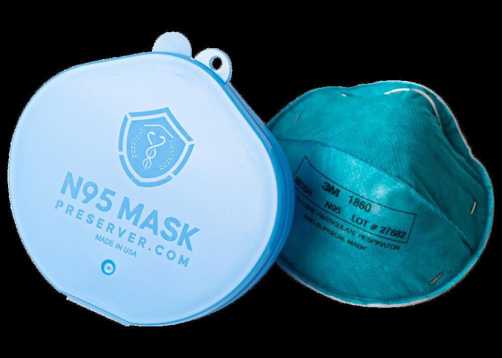 N95 Mask Preserver and N95 Mask